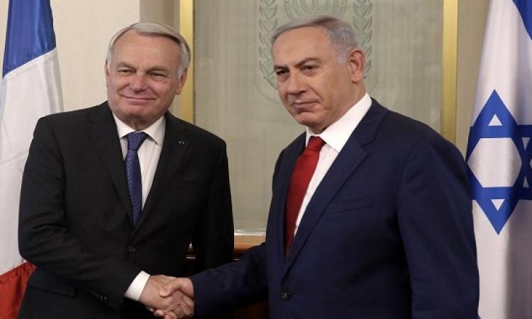 نتنياهو يرفض المباحثات الفرنسية للسلام بين الإسرائليين والفلسطنيين