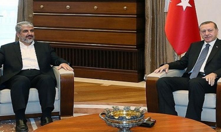 أردوغان يلتقى مع خالد مشعل بالعاصمة التركية اسطنبول