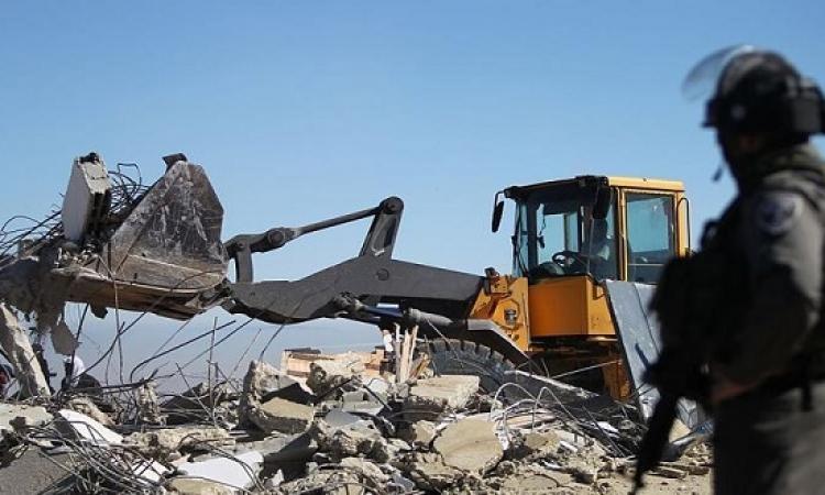 الجيش الإسرائيلى يهدم منزل فلسطينى قتل مستوطنة