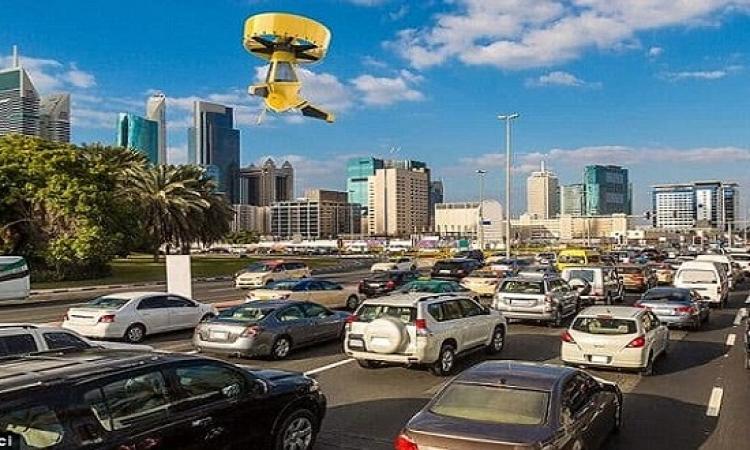بالصور .. التاكسى الطائر بقى حقيقة وتقدر تسوقه كمان !!