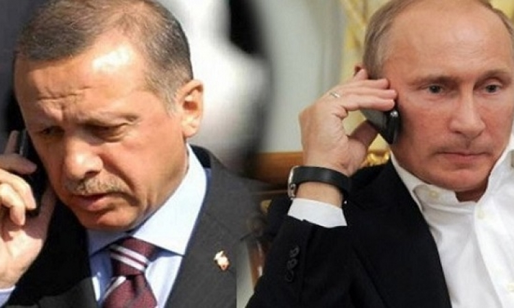 بوتين يتصل بأردوغان بعد يومين من اعتذاره لموسكو