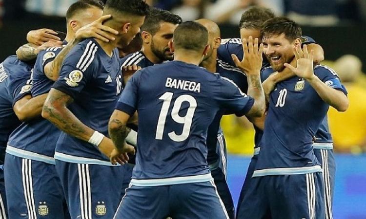 بالفيديو .. الأرجنتين تدك أمريكا برباعية بقيادة ميسى