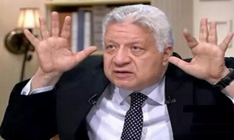 """مرتضى منصور يحضر """"مقرئ"""" للاعبى الزمالك لمنع الحسد"""