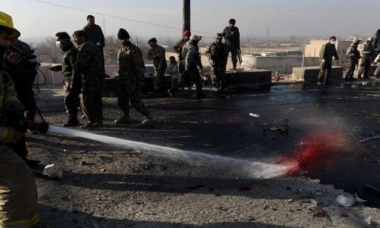 14 قتيلاً فى هجوم انتحارى يستهدف حافلة بكابول