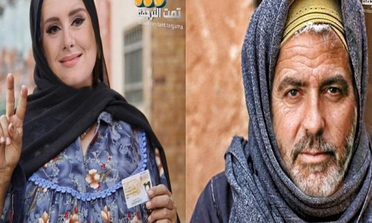 بالصور .. فنانيين هوليوود بنيولوك فلاحى واسامى بلدى !!
