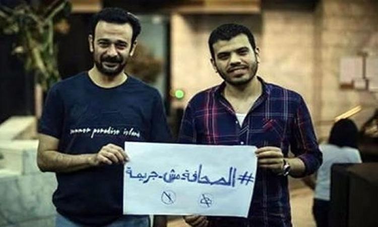 تجديد حبس بدر والسقا 15 يوما بتهمة التحريض على التظاهر