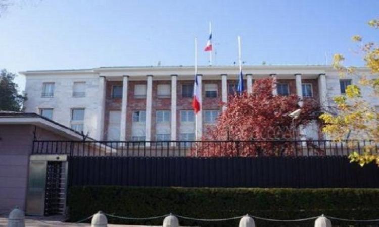 فرنسا تغلق بعثتها الدبلوماسية فى تركيا حتى إشعار أخر