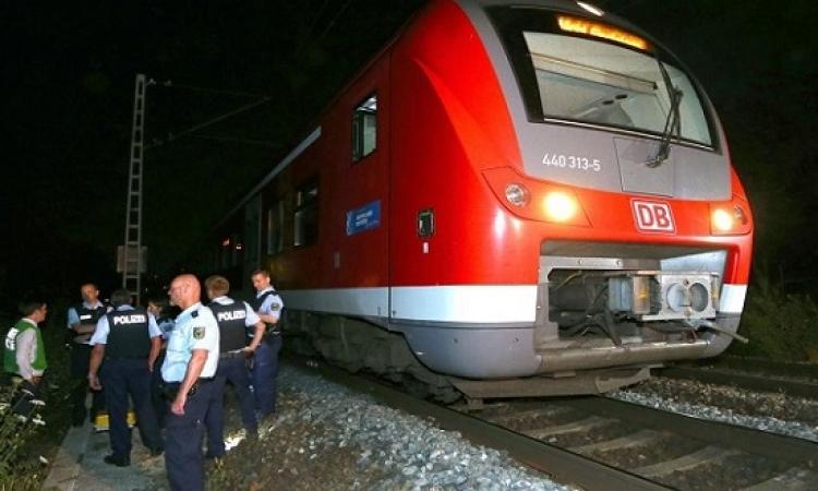 إصابة نحو 20 شخصاً فى هجوم إرهابى بفأس داخل أحد قطارات ألمانيا