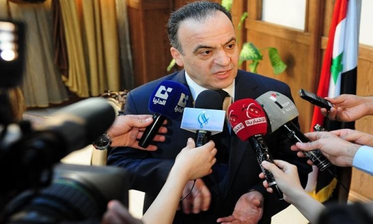 الحكومة السورية مستعدة لاستئناف المفاوضات دون شروط