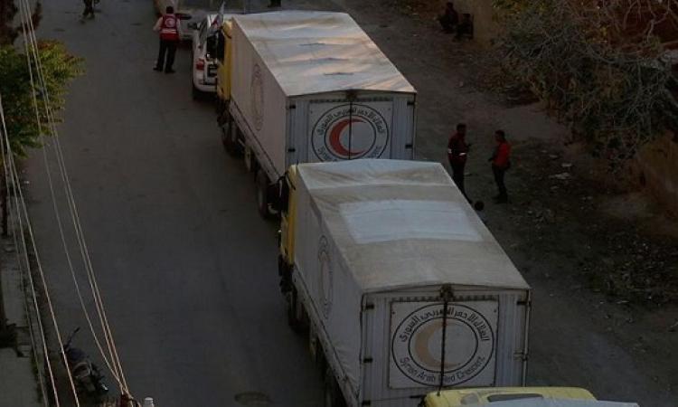 الخارجية : مصر تقدم مساعدات إنسانية لـ 5 مناطق سورية