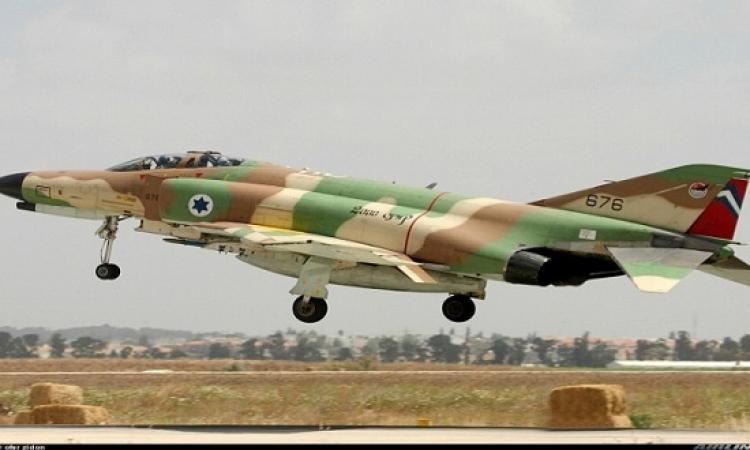 الجيش الإسرائيلى يقصف موقعا داخل سوريا