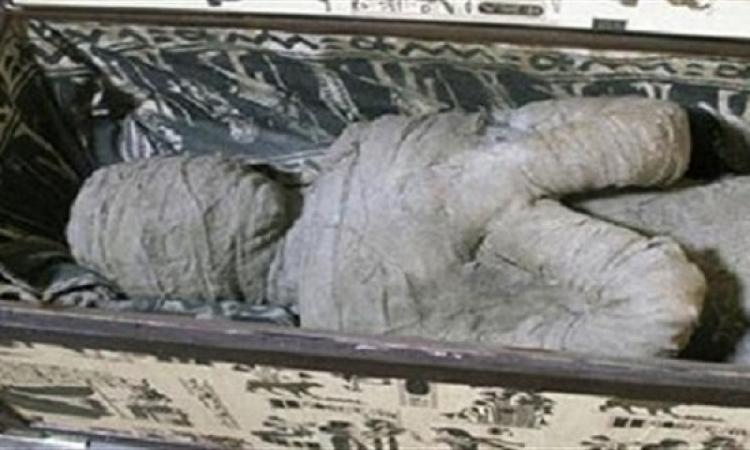 إسرائيل تعرض مومياء مصرية مريضة بأمراض العصر الحالى