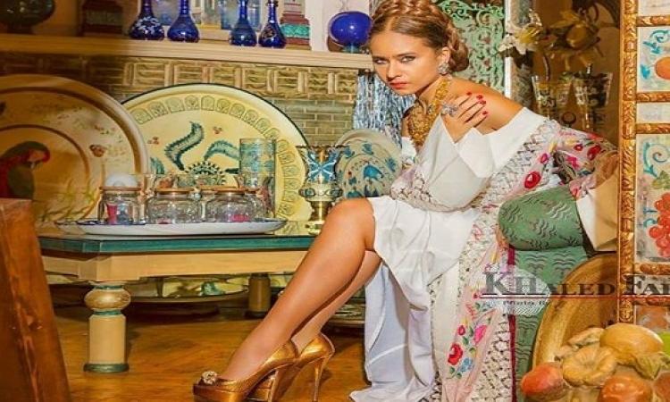 بالصور .. إطلالة مثيرة لنيللى كريم بروح أميرات الإغريق