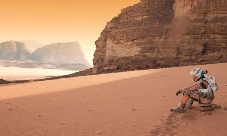 بالفيديو .. صور بقايا هيكل عظمى على كوكب المريخ !!