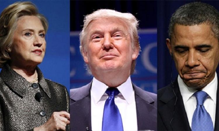 ترامب يعترف : باراك حسين أوباما هو مؤسس داعش وكلينتون شريكته