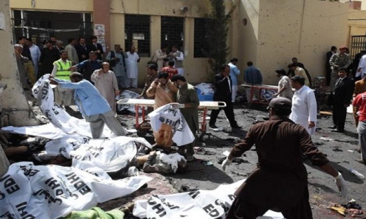 اكثر من 40 قتيلاً بانفجار قنبلة فى مستشفى بباكستان