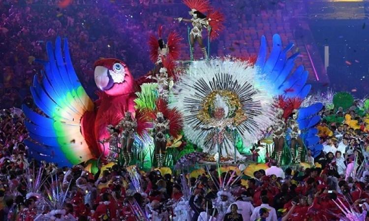 بالصور .. ريو دى جانيرو تودع الاوليمبياد بالسامبا والالعاب النارية