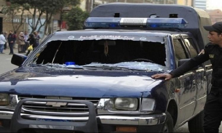 إصابة مجندين فى إطلاق نار على سيارة شرطة بالجيزة