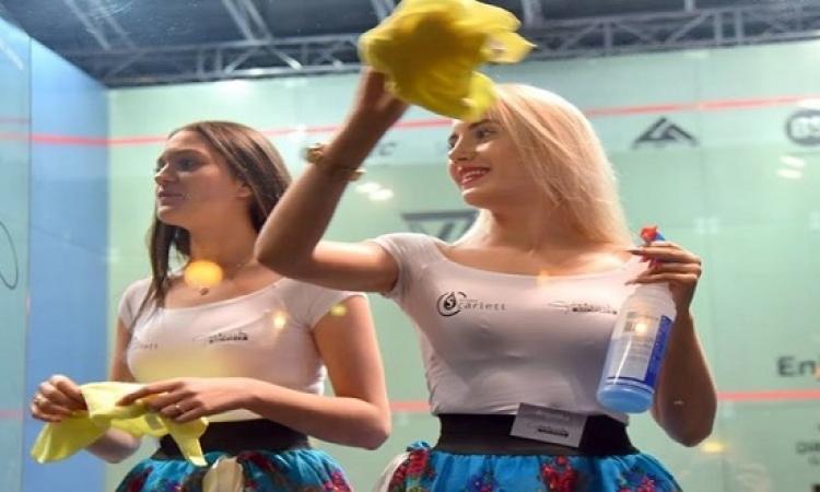 بالصور .. عاملات نظافة بولندا .. ملكات جمال !!
