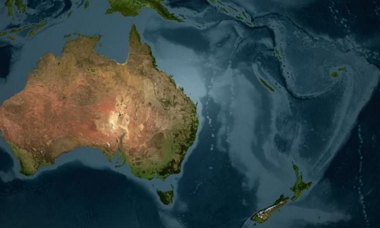 مفاجأة .. قارة أستراليا تتحرك نحو الشمال وبسرعة !!