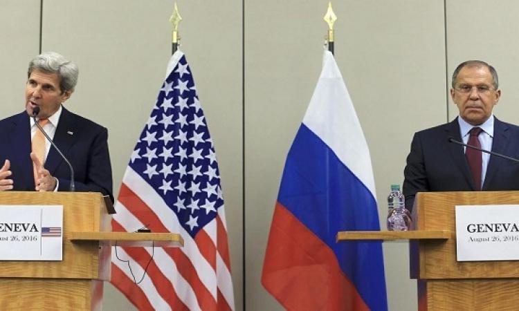 اتفاق امريكى روسى بشأن هدنة فى سوريا