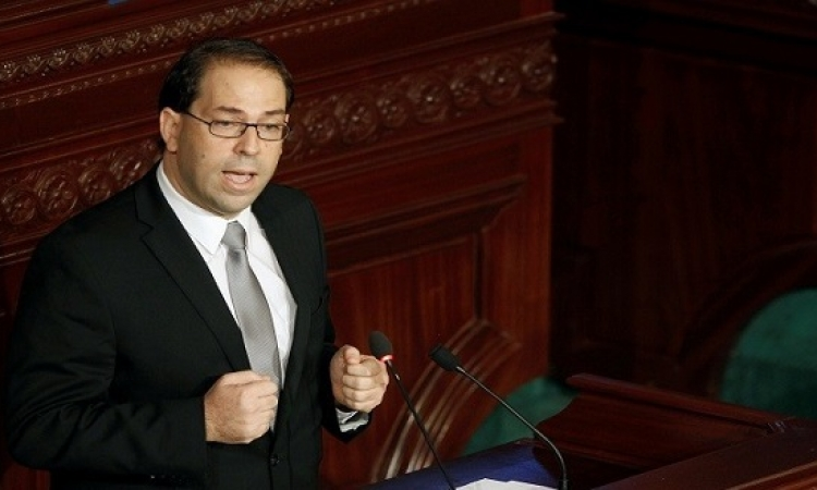 حكومة يوسف الشاهد تحصل على ثقة البرلمان التونسى