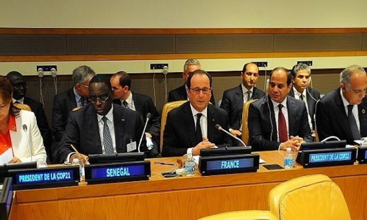 السيسى يترأس اليوم اجتماع لجنة الرؤساء الأفارقة الخاصة بالمناخ