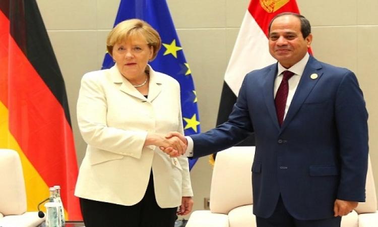 المستشارة الالمانية انجيلا ميركل تبدأ غداً زيارة رسمية لمصر
