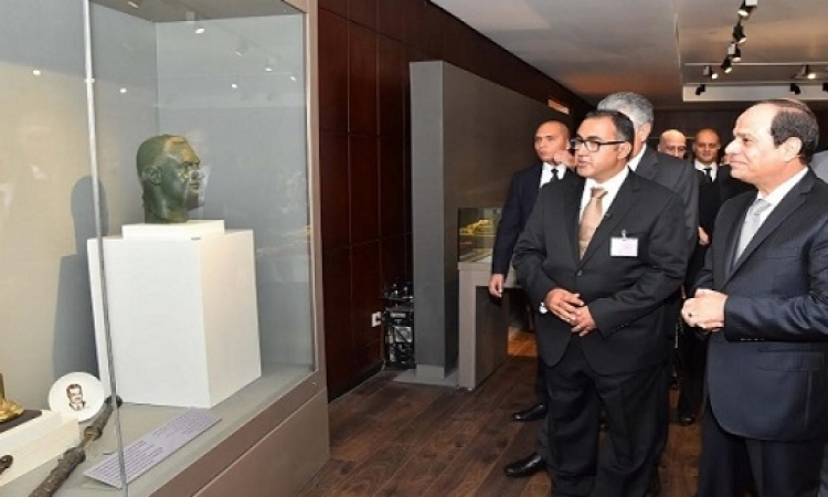 الرئيس السيسى يفتتح متحف جمال عبد الناصر بمصر الجديدة