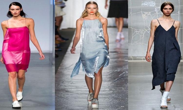 الفستان اللانجرى يواصل تربعه على عرش الموضة