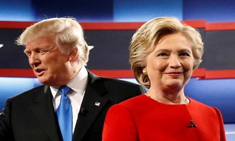 بشهادة الجميع .. كلينتون تتفوق على ترامب فى المناظرة الاولى