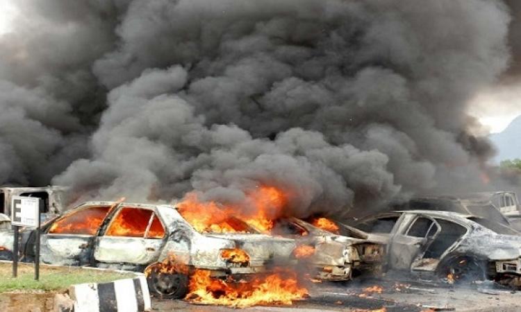13 قتيلاً و 25 جريحاً فى تفجير انتحارى بتكريت شمال بغداد