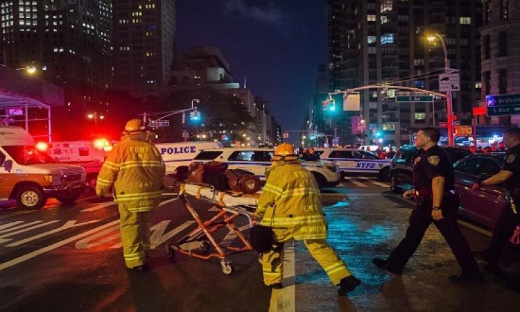 29 مصاباً فى انفجار مانهاتن والعثور على عبوة ناسفة ثانية