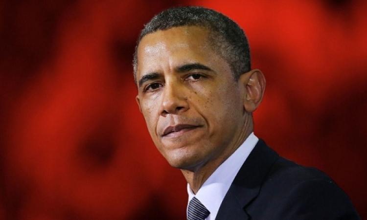 أوباما: الحل العسكرى لن يحل الأزمة فى سوريا