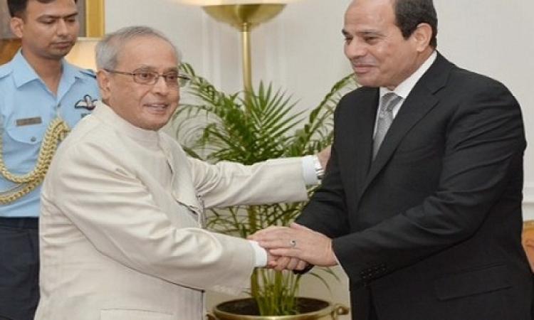 زيارة السيسى للهند تؤسس آفاقاً واسعة للاستثمار