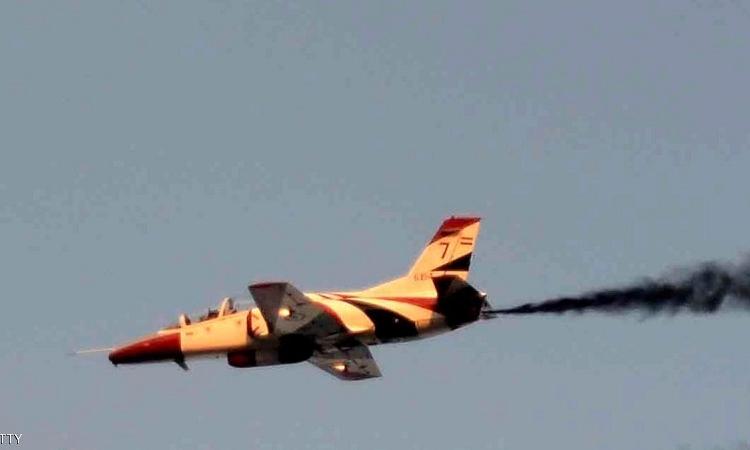 استشهاد ضابطين مصريين بعد سقوط طائرة عسكرية