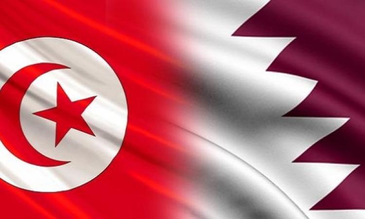 بالصور .. لافتة مهينة لقطر تتسبب فى أزمة مع تونس