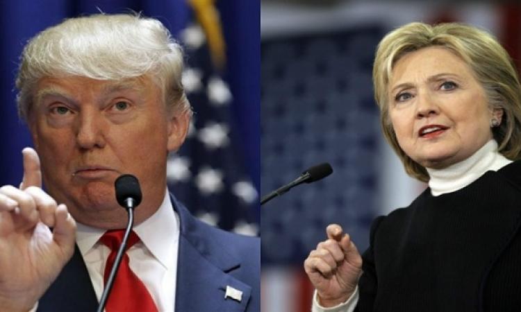 كلينتون vs ترامب.. مين فيهم مسيطر على السوشيال ميديا ؟!!
