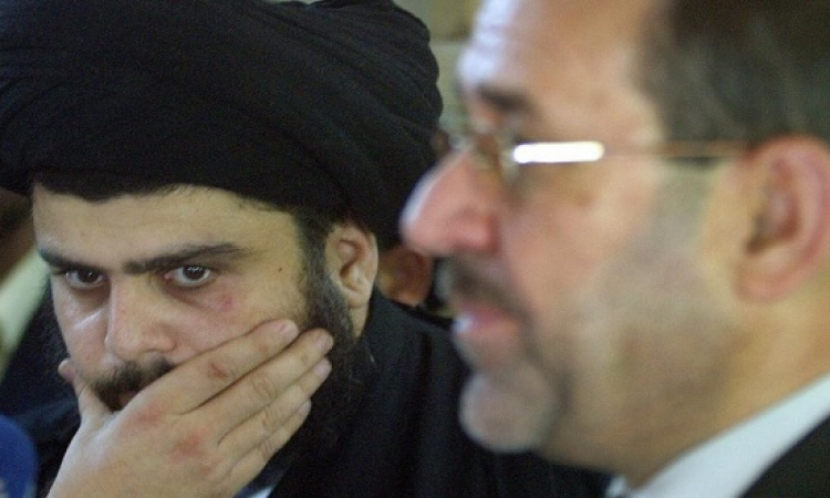 مقتدى الصدر يتهم نورى المالكى ببيع العراق للارهاب