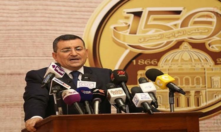 أسامة هيكل : السيسى يلقى خطابًا خلال احتفالية البرلمان