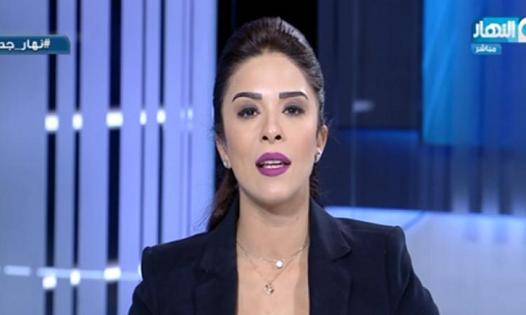 بالفيديو .. مذيعة النهار لتوكل كرمان : اخرسى خالص .. كفاية خربتى اليمن !!