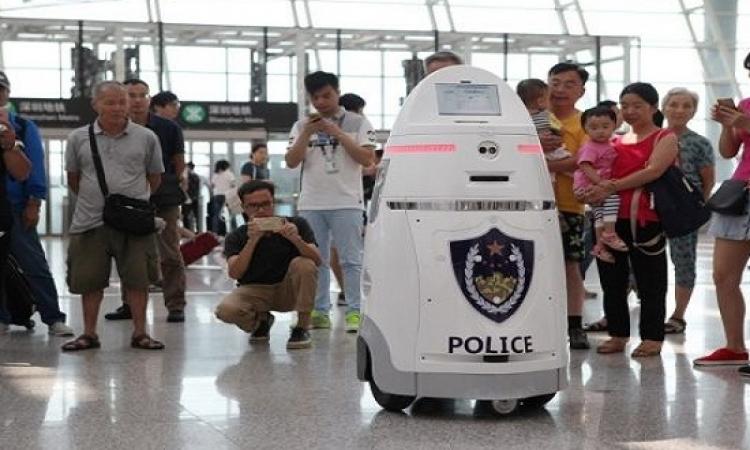 الصين تستخدم الروبوت للدوريات الأمنية لأول مرة