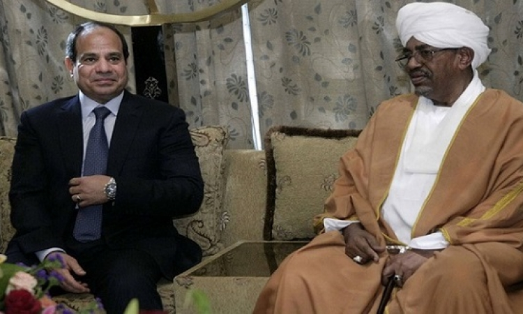 قمة مصرية – سودانية غدا بالخرطوم بين السيسى والبشير لتعزيز التعاون المشترك بين البلدين