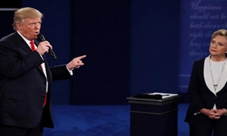 فى مناظرتهما الثانية .. ترامب يتعهد بسجن هيلارى إذا أصبح رئيساً