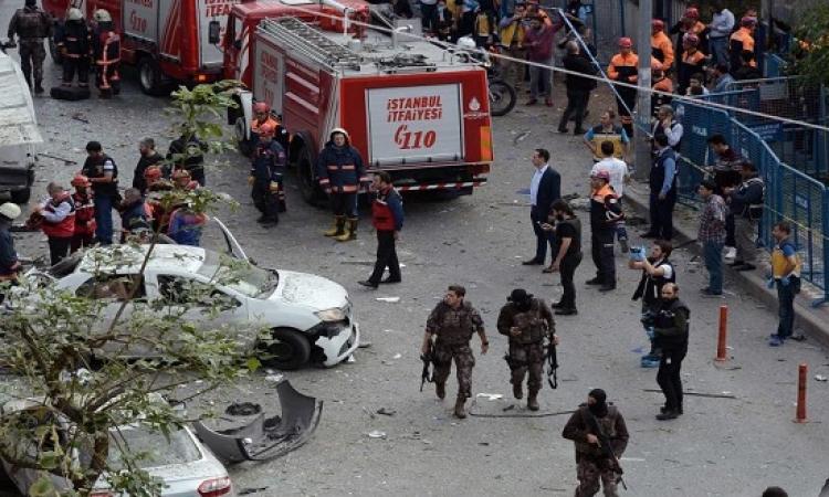 الخارجية تتجاهل أردوغان وتعزى أسر ضحايا تفجير تركيا