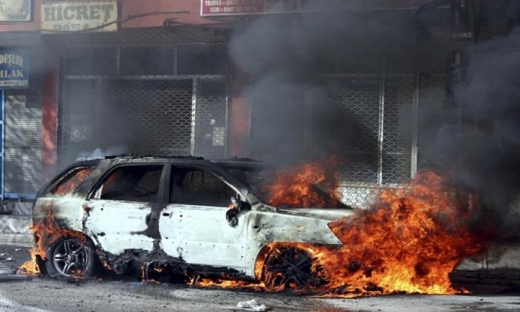 مقتل 8 جنود أتراك فى انفجار سيارة مفخخة بإقليم هكارى