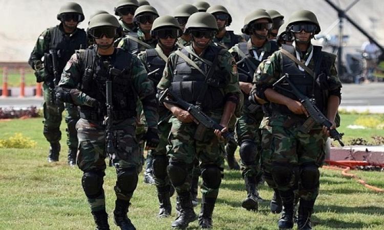 انطلاق فعاليات التدريب العسكرى المصرى الروسى حماة الصداقة