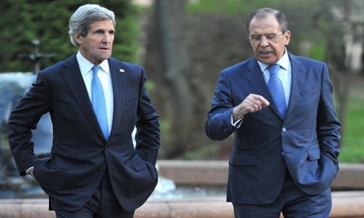 انطلاق اجتماع لوزان الدولى حول سوريا بعد لقاء ثنائى بين كيرى ولافروف