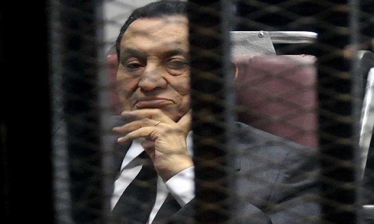 إخطار رسمى من النيابة العامة للداخلية بالإفراج عن مبارك
