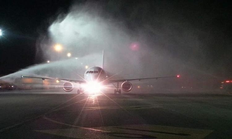 بالصور .. حقيقة حريق طائرة مصر للطيران بلاجوس
